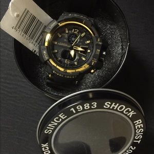 G-Shock Accessories - New Gold Chrome GShock